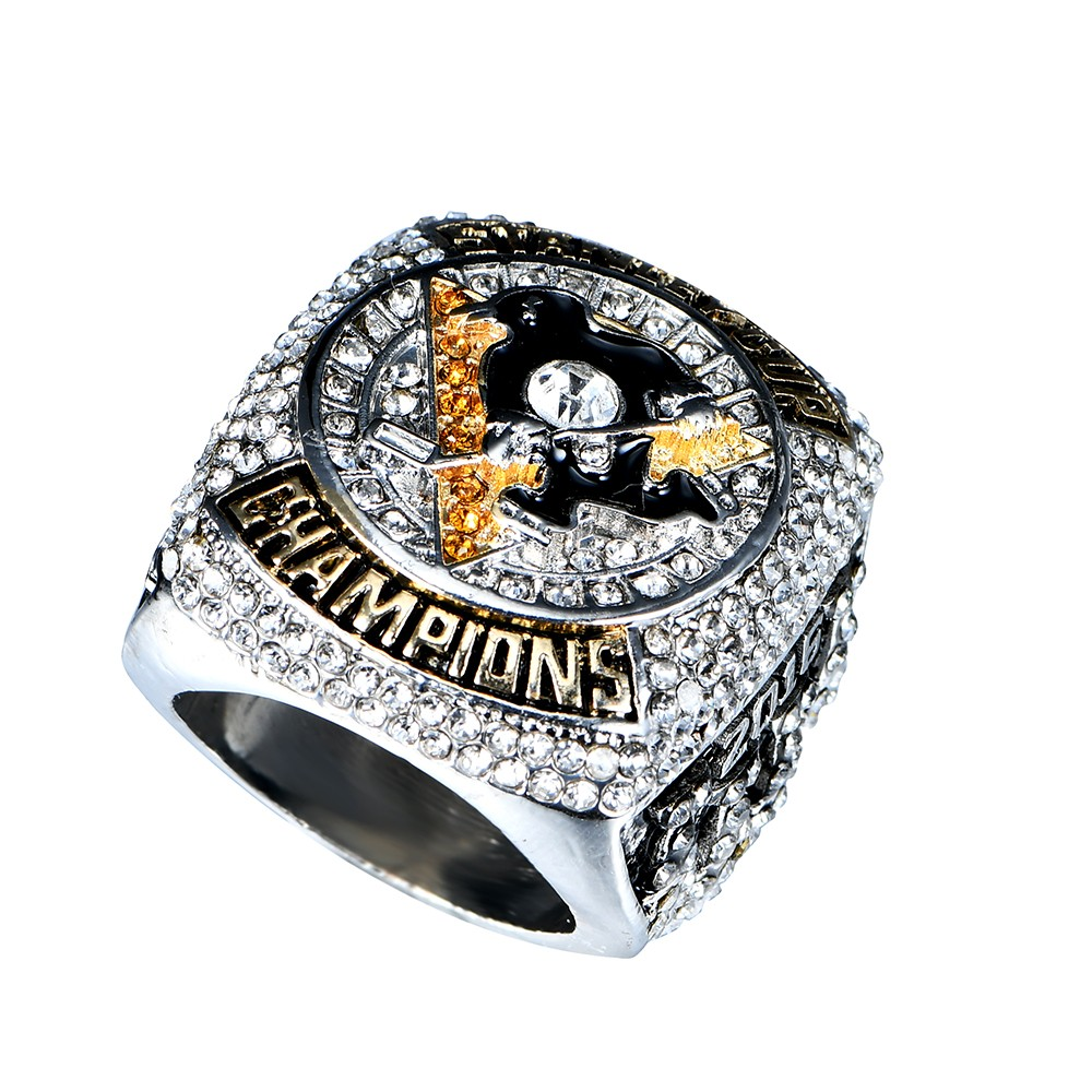 2016 pittsburgh penguins stanley cup scores engraved championship ring replica men jewelry us size 6