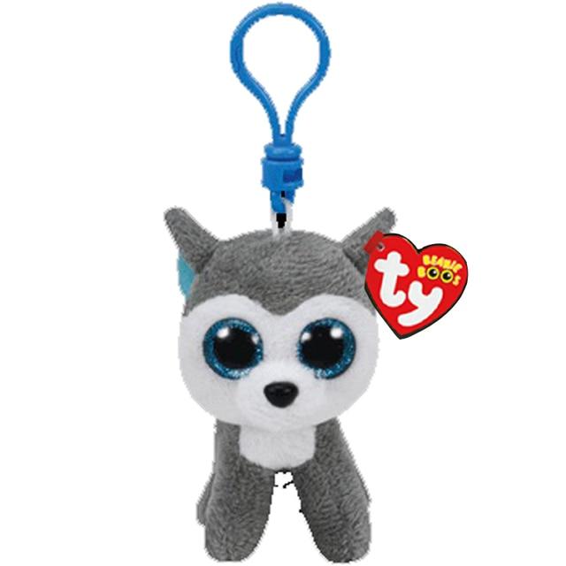 Boneca de Brinquedo Vaias Ty Gorro Olhos Grandes de Pelúcia Rouca Keychain Com Tag