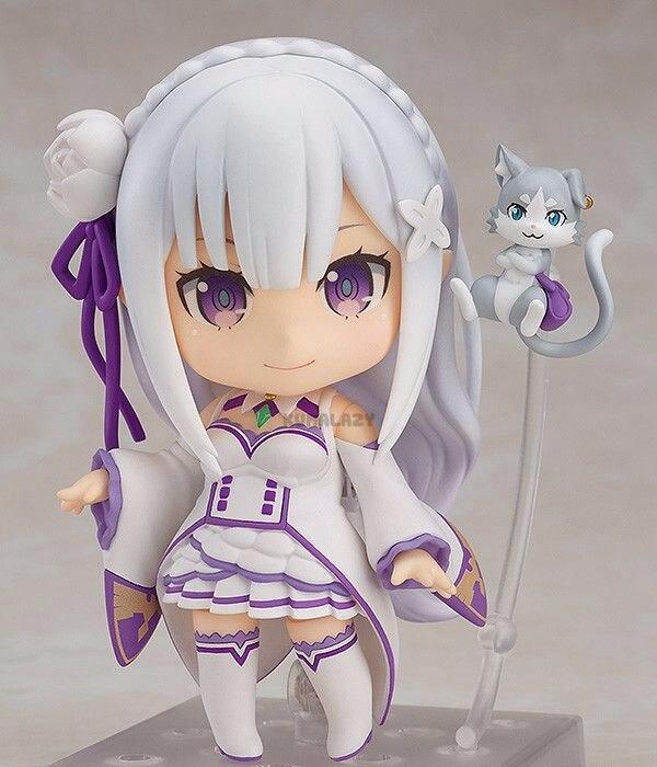 Вновь ноль Hajimeru Isekai Seikatsu Нацуки Subaru re жизнь другой мир от нуля Emilia 751 фигурку куклы модель