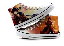 Uzumaki Naruto Uchiha Sasuke Itachi Casual Lovers Canvas Shoes