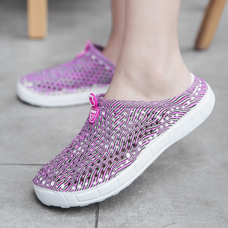 2018 women's casual Clogs Breathable sandals home valentine slippers summer slip on women flip flops shoes Clogs Sandalias Mujer 1