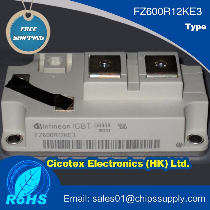 FZ600R12KE3 IGBT POWER MODULE 1200V 600A