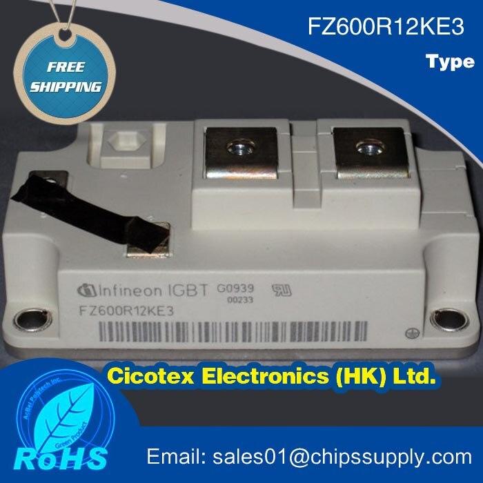 FZ600R12KE3 IGBT パワーモジュール 1200 V 600A  グループ上の 電子部品 & 用品 からの 集積回路 の中 1
