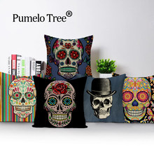 Sensational Best Value Sugar Skull Seat Covers For Cars Great Deals On Machost Co Dining Chair Design Ideas Machostcouk