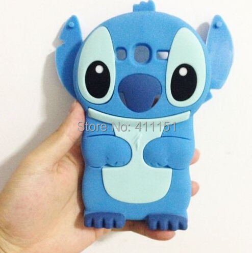 3D Cute Stitch Soft Silicone Rubber Cover Case Samsung Galaxy Grand Neo i9060 9060 i9062 - ALEX ZHOU Store store