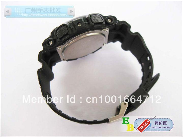 Free shipping Newest Latest model watch GA100 sports digital ga120 watch wholesale price free shipping