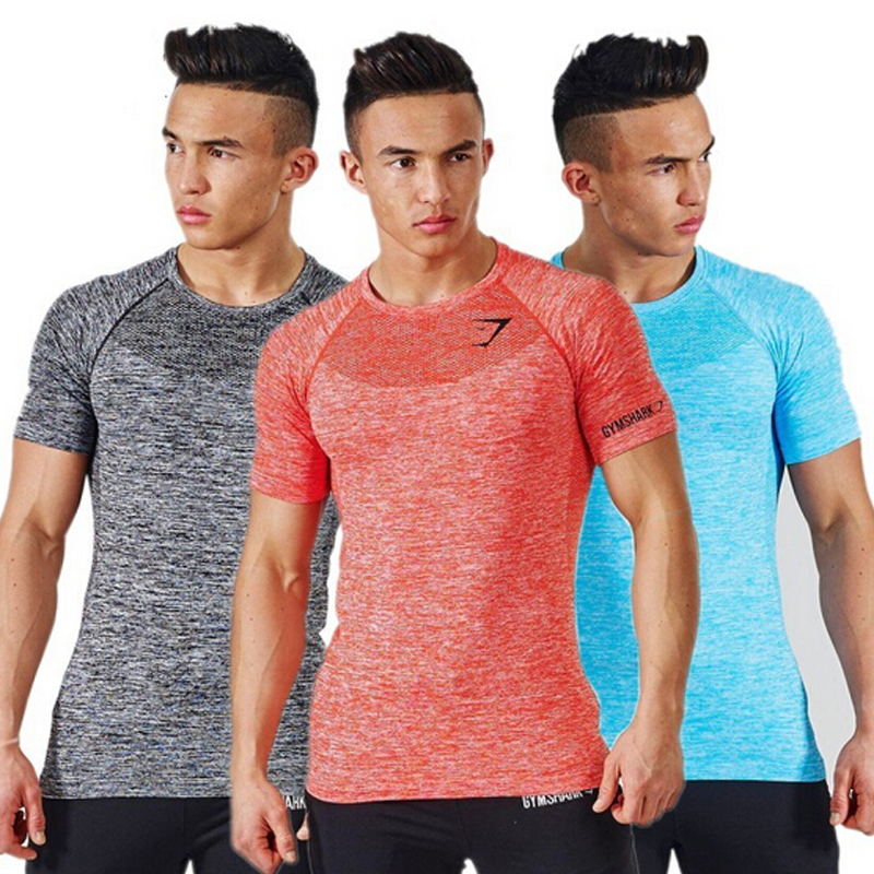 Unisoft fitness 2016 New Arrival  Shark Stringer T shirt Men Bodybuilding and Fitness Men's Singlets  Tank Shirts  Clothes