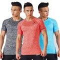 2016 New Arrival Tubarão Longarina T shirt Homens Tanque Singlets Gymshark Musculação e Fitness homens Camisas Roupas