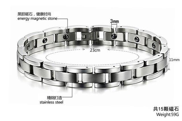 Купить европейские и американские браслеты из нержавеющей стали с магнитным