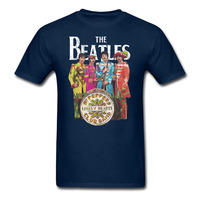 The Beatles Sgt Pepper S Lonely Hearts Club T Shirt Men And Women Printing Rock Tee