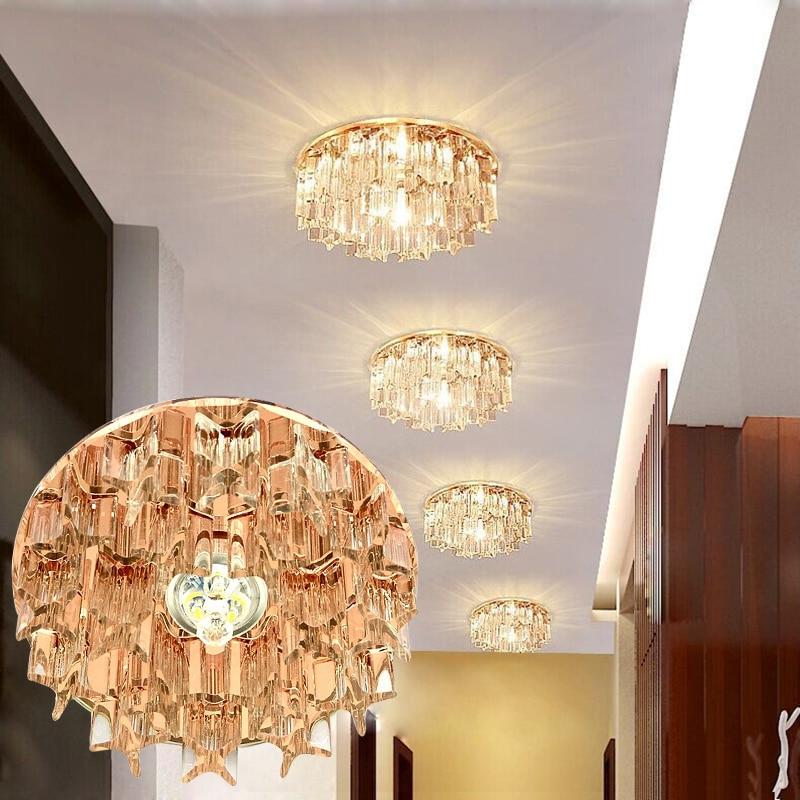 LAIMAIK 3W 5W Crystal LED Առաստաղի լույս AC90-260V - Ներքին լուսավորություն - Լուսանկար 6