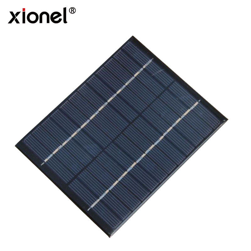 Xionel 12V 2W 160mA Polycrystalline silicon Mini Solar Panel module Cell For Toy Charger DC Battery DIY 136x110mm