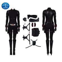 Manluyunxiao Black Widow Cosplay Halloween Costume For Women Carnival Marvel The Avengers Superhero Wonder Woman Outfit Jupmsuit