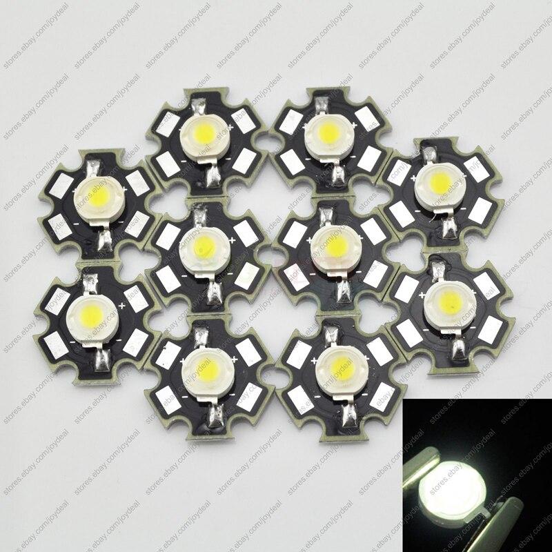 a5187aee8557 3 Вт белые Мощность Светодиодное освещение эмиттер dc3.2-3.8 В 700ma  180-200lm 6500-7000 К с 20 мм Звезда Platine радиатор
