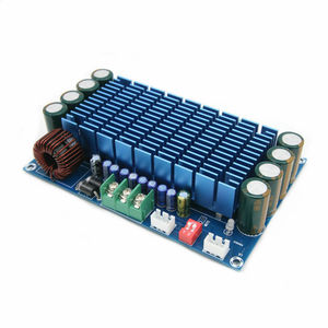 Image 3 - 50W * 4 TDA7850 רכב 4 ערוצים 12V גדול כוח ACC אודיו דיגיטלי מגבר לוח