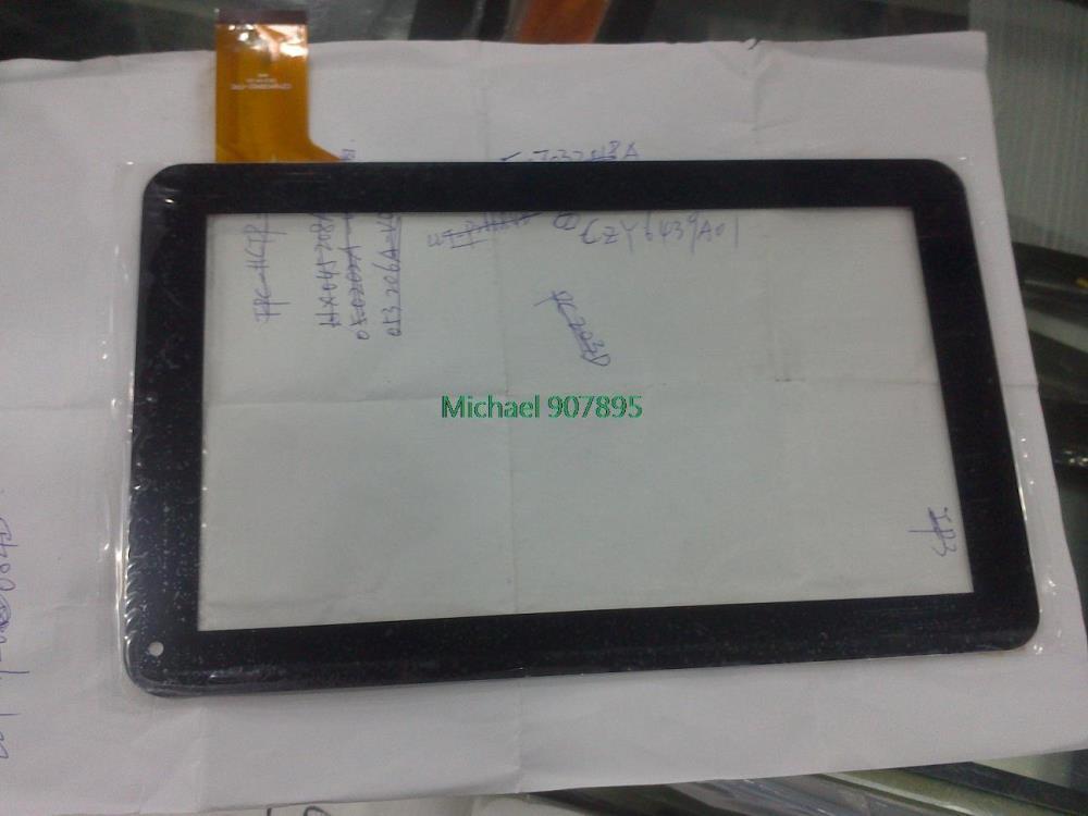 Номер: CZY6439A01-Fpc вне-пишущего планшета емкостный планшетный ПК сенсорный экран, указывающий размер и цвет