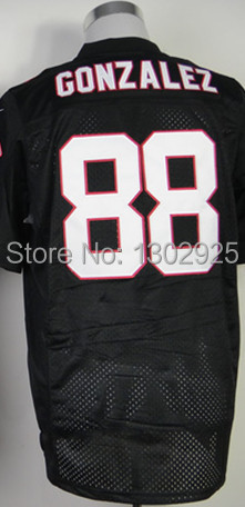 free shipping 2ce47 4fb7e € 22.5 |Cheap Wholesale Men's American Football Jerseys #88 Tony Gonzalez  Jersey Team Red White Color Authentic Elite Football Jersey en Camisetas de  ...