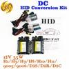 HID Conversion Kit 12V 35W H7 Lamp DC Slim Ballast Car Headlight Auto Bulb 4300K 6000K