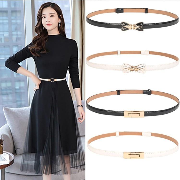 Summer Fashion Lady Adjustable Belt Women's Luxury Brand Slimming Belts Strap Elegant Dress For Girls Cummerbunds Cinturon Mujer