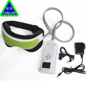 Image 4 - LINLIN luchtdruk Eye massager met Muziek functies. Magnetische ver infrarood verwarming Trillingen therapie bijziendheid breo pangao massage