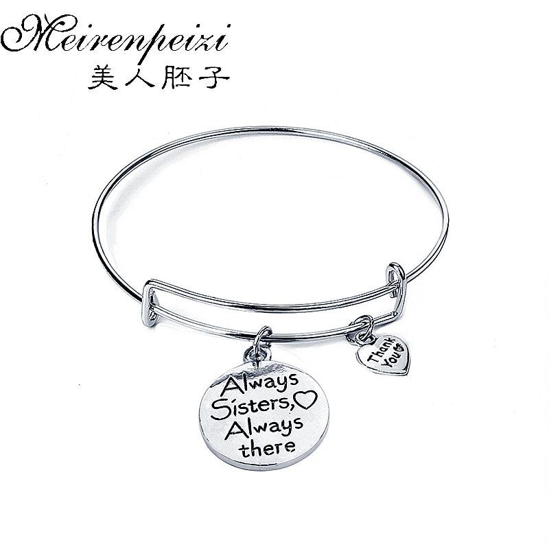 115 30 De Réductiontoujours Ma Sœur Bracelet Lettre Initiale Coeur Pierre De Naissance Bracelet à Breloques Famille Anniversaire Soeur