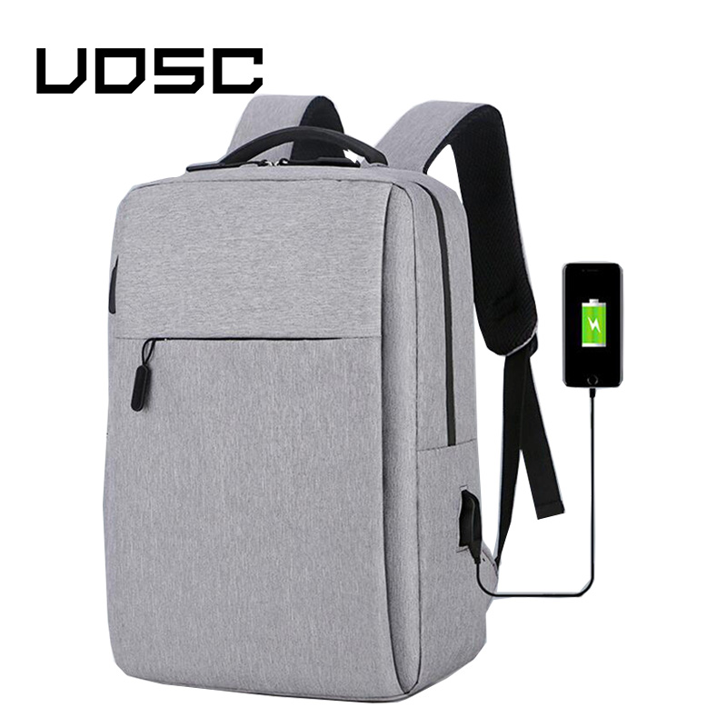 UOSC Usb Charging Backpack Anti Theft Men Back Packs 2019  Travel Bag For 16inch Laptop Backbag Daypacks Male Schoolbag Mochila