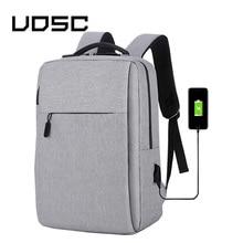UPSC USB ชาร์จกระเป๋าเป้สะพายหลังป้องกันการโจรกรรมชายกลับแพ็ค 2019 กระเป๋าเดินทางสำหรับแล็ปท็อปขนาด 16 นิ้วกระเป๋าเป้สะพายหลัง Daypacks กระเป๋าถือชาย mochila