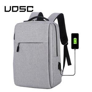 Image 1 - UPSC USB ชาร์จกระเป๋าเป้สะพายหลังป้องกันการโจรกรรมชายกลับแพ็ค 2019 กระเป๋าเดินทางสำหรับแล็ปท็อปขนาด 16 นิ้วกระเป๋าเป้สะพายหลัง Daypacks กระเป๋าถือชาย mochila