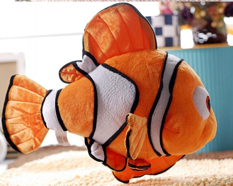 25cm finding nemo movie cute clown fish stuffed animal soft plush