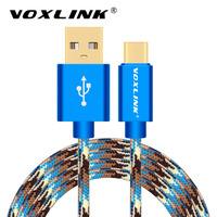 VOXLINK USB Type C Cable USB C Data Sync Charger Cable for Xiaomi 4C Nexus 6p 5X for Macbook Meizu Pro5 One Plus2 Charging Cable