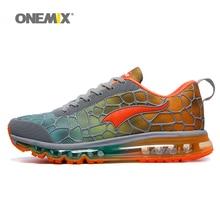 ONEMIX для мужчин беговые кроссовки, воздух 270 спортивные кроссовки темно Zapatillas Спортивная обувь Max 95 подушки прогулочная Спортивная