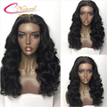 Thick Human Hair Full Lace Wigs Density 180% Cheap Body Wave Brazilian Virgin Hair Glueless Lace Front Wig For Black Women