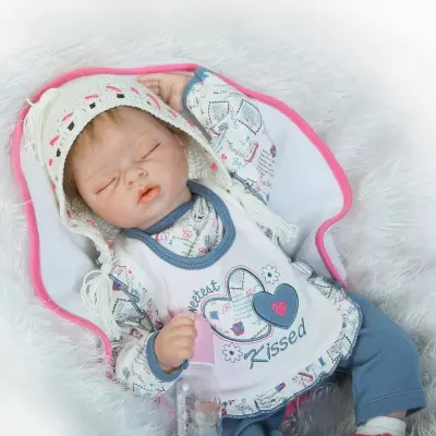 22inch 55cm Lovely Soft Body Silicone baby reborn dolls lifelike newborn girl babies toy for childdoll birthday gift brinquedos free shipping hot sale real silicon baby dolls 55cm 22inch npk brand lifelike lovely reborn dolls babies toys for children gift