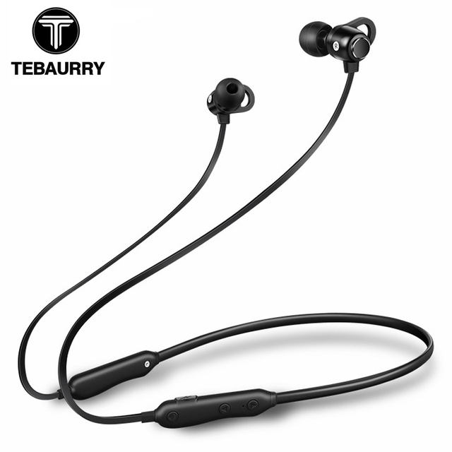 c5b81977dea TEBAURRY S6 Bluetooth Earphone Wireless Headphones IPX5 Waterproof Sports  Bluetooth Headset for phone iPhone xiaomi Samsung