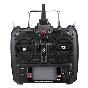 Image 3 - Wltoys XK K130 2.4G 6CH فرش ثلاثية الأبعاد 6G نظام Flybarless RC هليكوبتر RTF 6 قنوات كومبو متوافق مع FUTABA S FHSSRTF