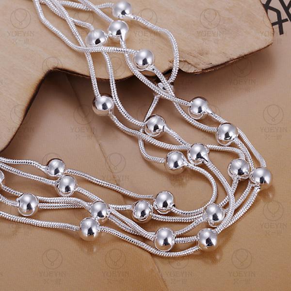 Charm Bracelets Link Chain silver plated bracelet for women men unisex jewelry hand chain H234 Bridal Jewelry pulseras 2