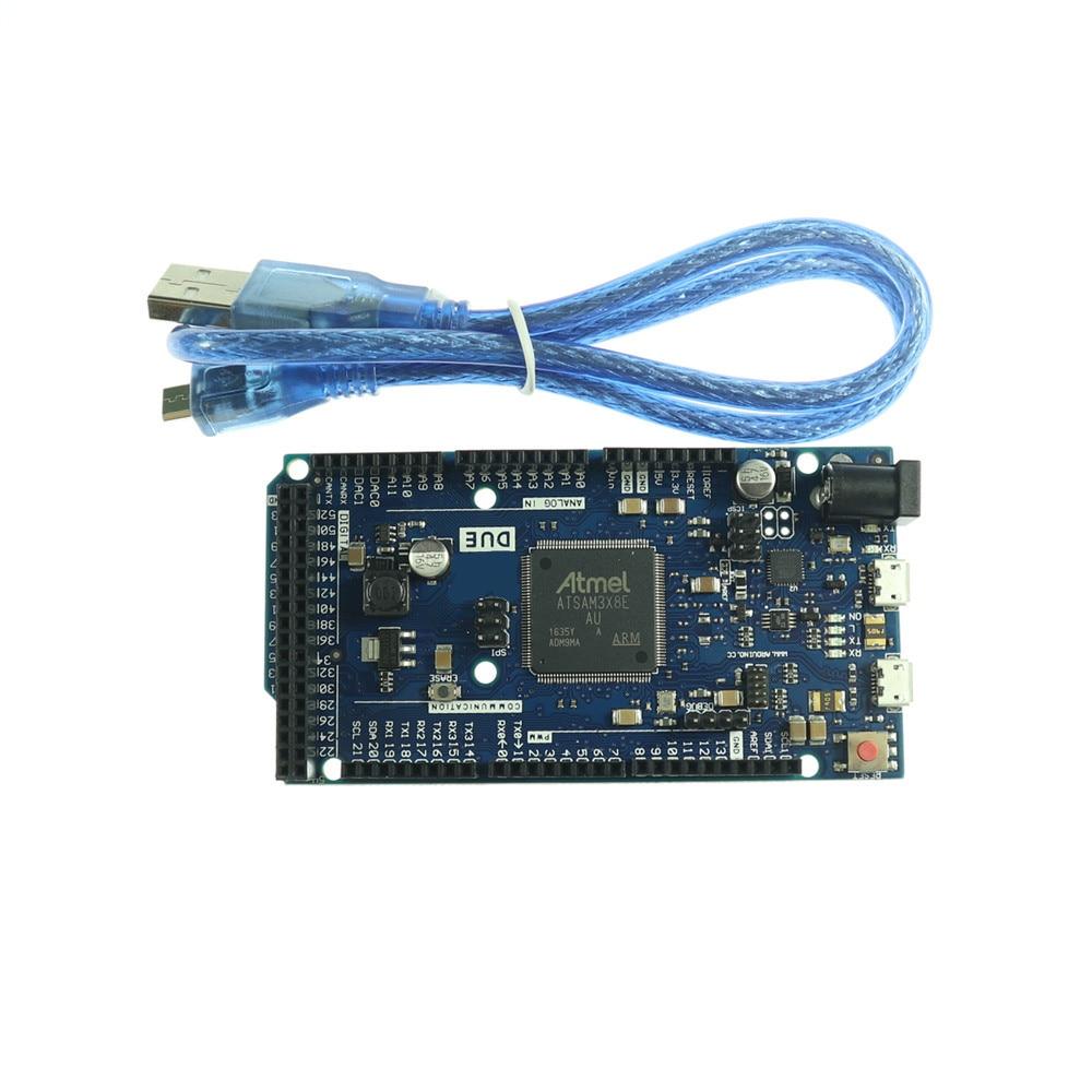 1 pces kj292 duemilanove Cortex-M3 para arduino devido placa r3 sam3x8e braço de 32 bits 2013/mega2560 r3