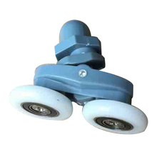 4x23mm twin unten oben duschtr rollen riemenscheiben rder lufer - Duschtur Rollen