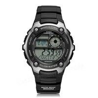 Casioนาฬิกายอดนิยมแบรนด์หรูผู้ชายกีฬานาฬิกาดิจิตอลกันน้ำที่สมบูรณ์แบบปฏิทินปลุกRelógio AE-2100นักด...
