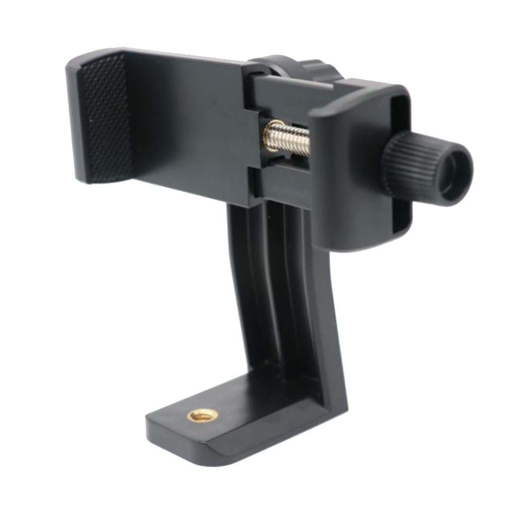 Tripod Mount Adapter Cell Phone Clipper Holder Cellphone Clipper Vertical 360 Tripod Stand  For IPhone X 7 8 Plus Samsung S8 S7