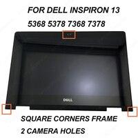 Новый для dell Inspiron 13 5368 5378 7368 7378 B133HAB01.0 Сенсорная панель со светодиодным экраном токсичная смазка дигитайзер Рамка NV133FHM N41