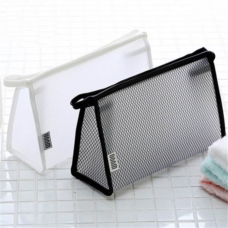 2019 New PVC Transparent Cosmetic Bag Women Waterproof Travel Make Up Toiletry Bags Makeup Organizer Case 2019 New