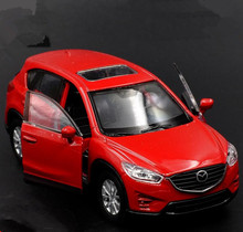 1:36合金引き戻す車モデル、高シミュレーションマツダcx-5合金車のおもちゃ、金属diecasts、2オープンドア、おもちゃの車、送料無料