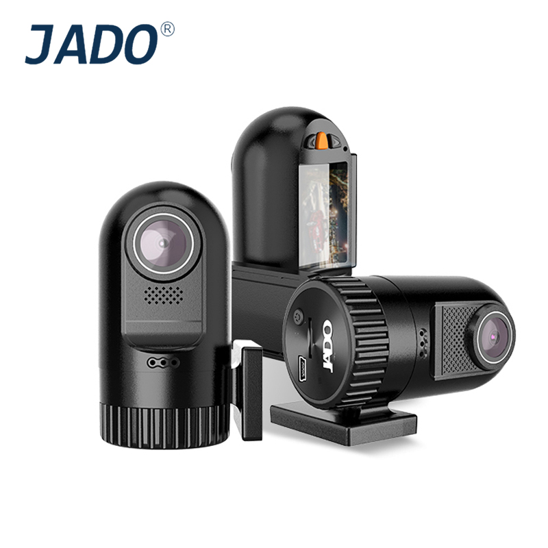 JADO D169S-AD 1.5 Car Camera Full HD 1440P  Mini Car Dvr Video Recorder 140 degree Car DVRs Registrar Dash cam Support 128G dual dash camera car dvr with gps car dvrs car camera dvr video recorder dash cam dashboard full hd 720p portable recorder dvrs