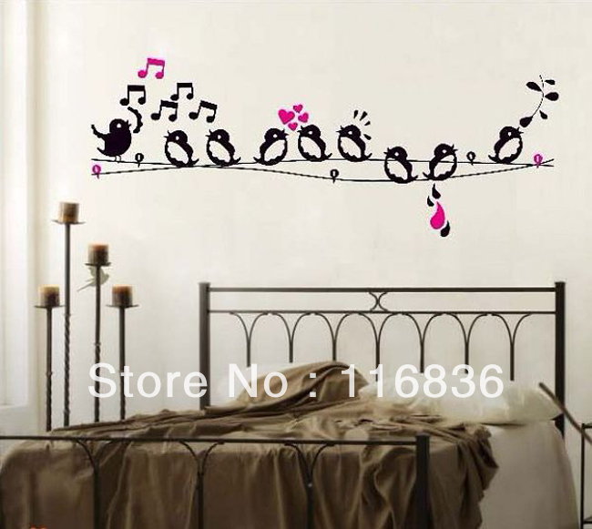 Free shipping 1 set retail house decoration singing birds for Birdcage bedroom ideas