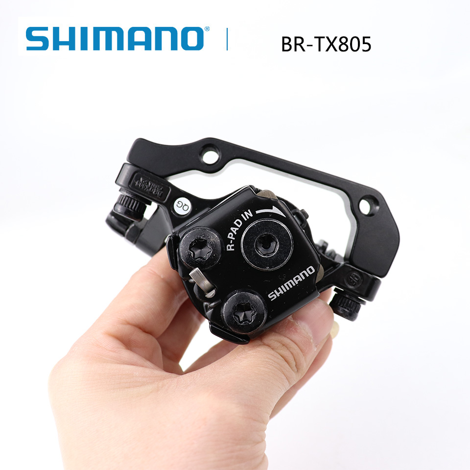 Front Rear Disc Brake Caliper With Resin Pad Bicycle Parts For Mountain Bikes
