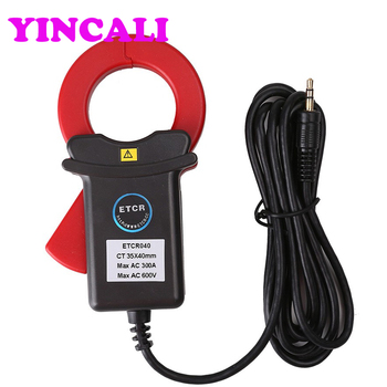 ETCR040 High Accuracy Clamp Leakage Current Sensor For AC Leakage Current, Current, Harmonic Current Measurement Range 0.00~300A