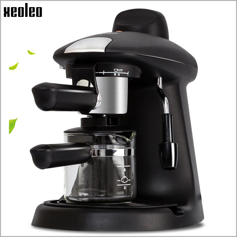 Xeoleo Coffee maker Espresso Coffee Automatic Coffee machine 730W High pressure Steam Espresso machine xiaomi scishare capsule espresso coffee machine