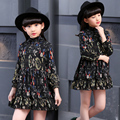 Baby Girls Summer Dress 2017 New Brand Kids Print Party Dress for Girls Children Bohemian Fashion Clothes