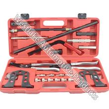Engine Cylinder Head Service Tool Universal Valve Spring Compressor Repair Kit&valve plier auto tools kit